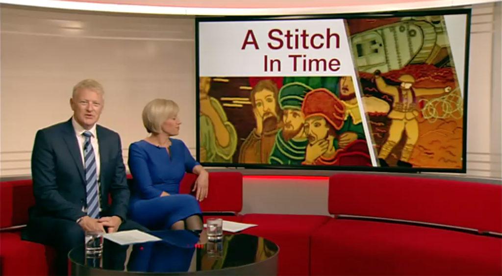 bbc hastings tapestry report